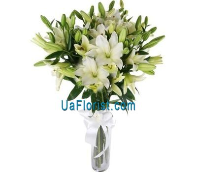 """Bouquet of lilies flowers"" in the online flower shop uaflorist.com"