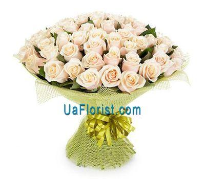 """61 cream rose"" in the online flower shop uaflorist.com"