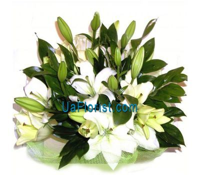"""Bouquet of flowers from 7lilies"" in the online flower shop uaflorist.com"