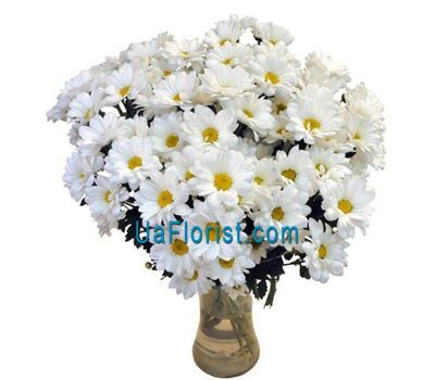 """Bouquet of flowers 15 chamomile (chamomile chrysanthemums)"" in the online flower shop uaflorist.com"