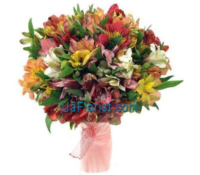 """A bunch of 31 alstroemerias"" in the online flower shop uaflorist.com"