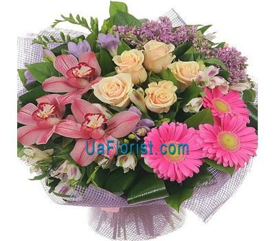 """""""A bunch of orchid flowers"""" in the online flower shop uaflorist.com"""