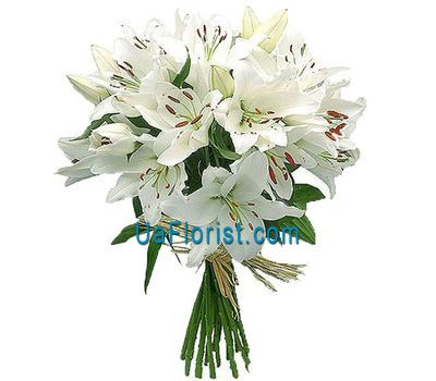 """Bouquet of 13 lilies of flowers"" in the online flower shop uaflorist.com"