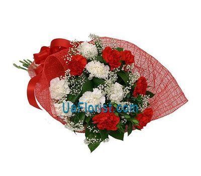 """""""Букет цветов из 13 гвоздик"""" в интернет-магазине цветов uaflorist.com"""