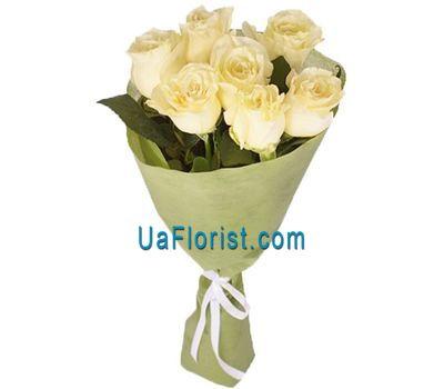 """""""7 белых роз"""" в интернет-магазине цветов uaflorist.com"""
