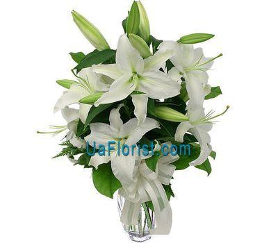 """""""Букет цветов из 5 лилий"""" в интернет-магазине цветов uaflorist.com"""