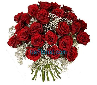"""29 red roses"" in the online flower shop uaflorist.com"