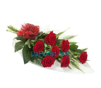 """Bouquet of 7 roses"" in the online flower shop uaflorist.com"