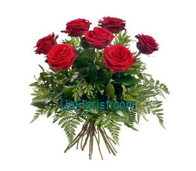 """7 red roses"" in the online flower shop uaflorist.com"