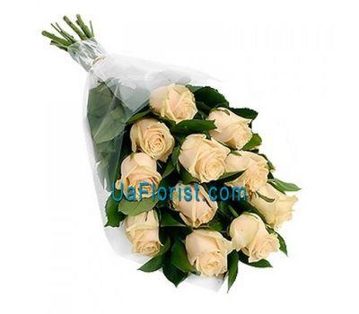 """11 cream roses"" in the online flower shop uaflorist.com"