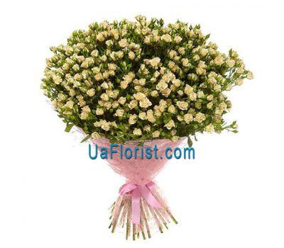 """""""Bouquet of 51 bush roses"""" in the online flower shop uaflorist.com"""