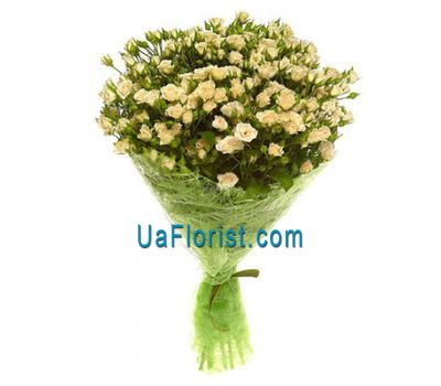 """Bouquet of 19 rose-spray"" in the online flower shop uaflorist.com"