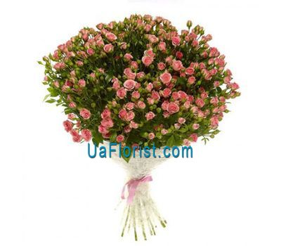 """Bouquet of 35 bush roses"" in the online flower shop uaflorist.com"