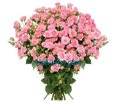 """Bouquet of 21 rose-spray"" in the online flower shop uaflorist.com"