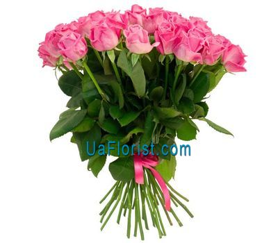 """31 pink roses"" in the online flower shop uaflorist.com"