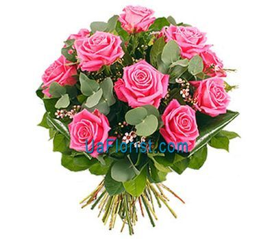 """""""11 розовых роз"""" в интернет-магазине цветов uaflorist.com"""