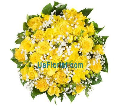"""35 yellow roses"" in the online flower shop uaflorist.com"