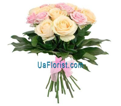 """15 roses"" in the online flower shop uaflorist.com"