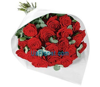 """21 red rose"" in the online flower shop uaflorist.com"