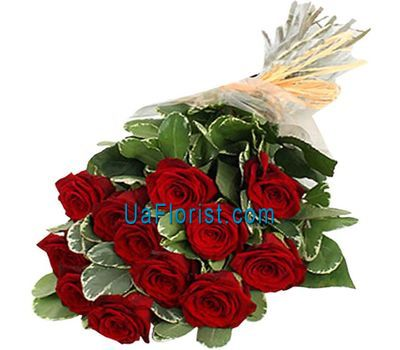 """11 red roses"" in the online flower shop uaflorist.com"