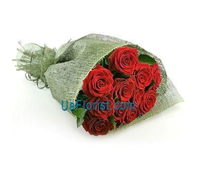 """11 red roses"" in the online flower shop uaflorist.com"