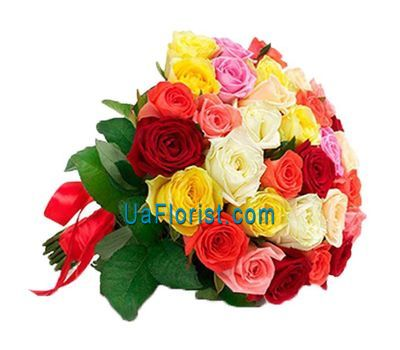 """Bouquet of 33 roses"" in the online flower shop uaflorist.com"