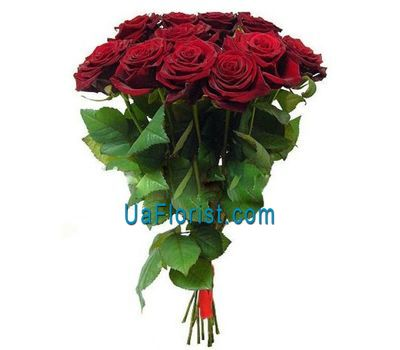 """A bouquet of 11 red roses"" in the online flower shop uaflorist.com"