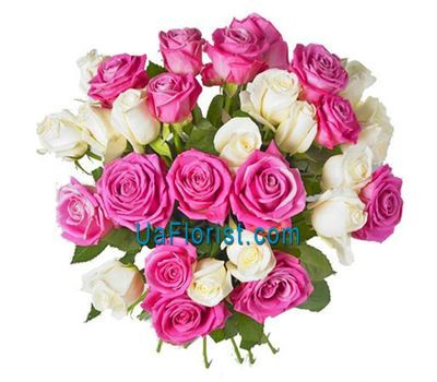 """29 roses with design"" in the online flower shop uaflorist.com"