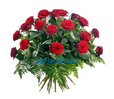 """Bouquet of 29 red roses"" in the online flower shop uaflorist.com"