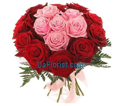 """Bouquet of 17 roses"" in the online flower shop uaflorist.com"
