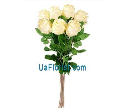 """""""7 кремовых роз"""" в интернет-магазине цветов uaflorist.com"""
