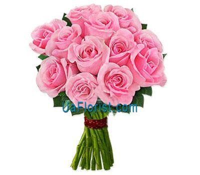 """""""11 pink roses"""" in the online flower shop uaflorist.com"""