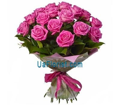 """Bouquet of 29 pink roses"" in the online flower shop uaflorist.com"