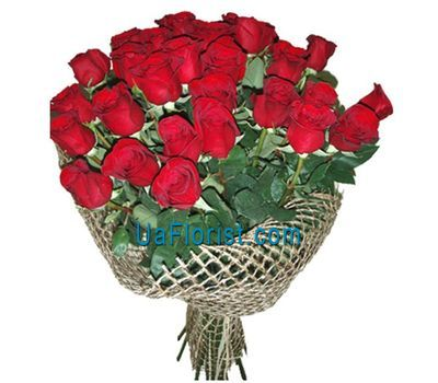 """25 red import roses"" in the online flower shop uaflorist.com"