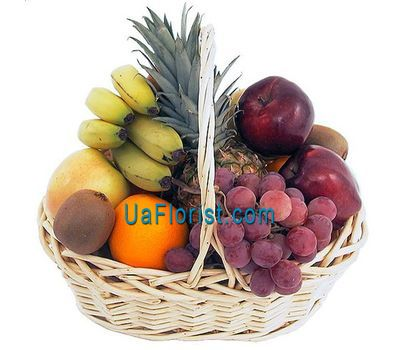 """Basket of fruits"" in the online flower shop uaflorist.com"