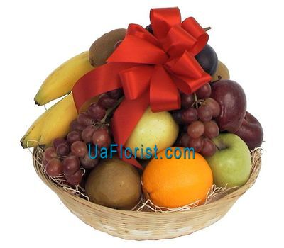 """A fruit tray"" in the online flower shop uaflorist.com"