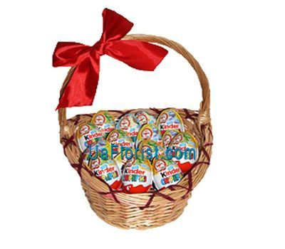 """Kinder Gift Basket"" in the online flower shop uaflorist.com"