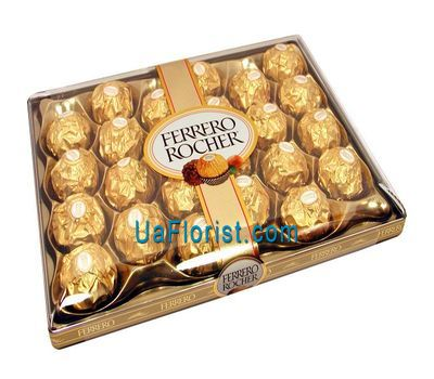 """""""Цукерки - Ferrero Rocher"""" в интернет-магазине цветов uaflorist.com"""