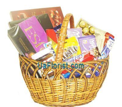 """""""Basket of tastes"""" in the online flower shop uaflorist.com"""