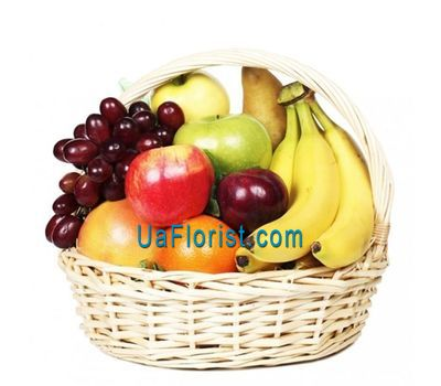 """Fruit Basket"" in the online flower shop uaflorist.com"