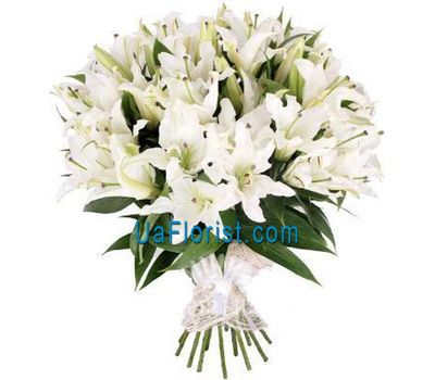 """""""Bouquet of 51 lilies"""" in the online flower shop uaflorist.com"""
