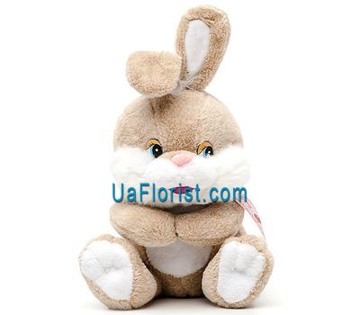 """Soft toy - Bunny"" in the online flower shop uaflorist.com"