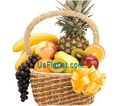 """""""Fruit Basket"""" in the online flower shop uaflorist.com"""