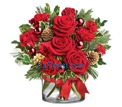 """Composition-happy-new-year-u-919"" in the online flower shop uaflorist.com"