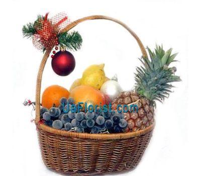 """""""Christmas fruit basket"""" in the online flower shop uaflorist.com"""