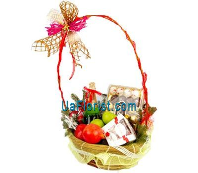 """Basket of sweets"" in the online flower shop uaflorist.com"