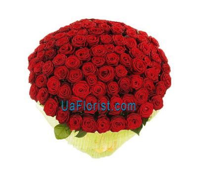 """A large bouquet of roses from 151 red roses"" in the online flower shop uaflorist.com"