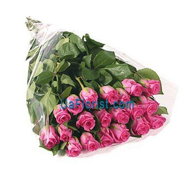 """""""21 розовая импортная роза"""" в интернет-магазине цветов uaflorist.com"""