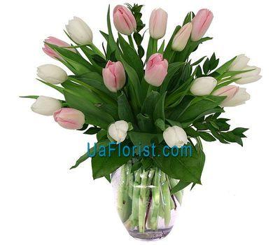 """""""Букет из 19 тюльпанов"""" в интернет-магазине цветов uaflorist.com"""