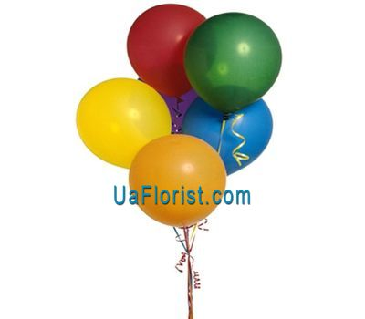 """Air balloons - 7 pcs."" in the online flower shop uaflorist.com"
